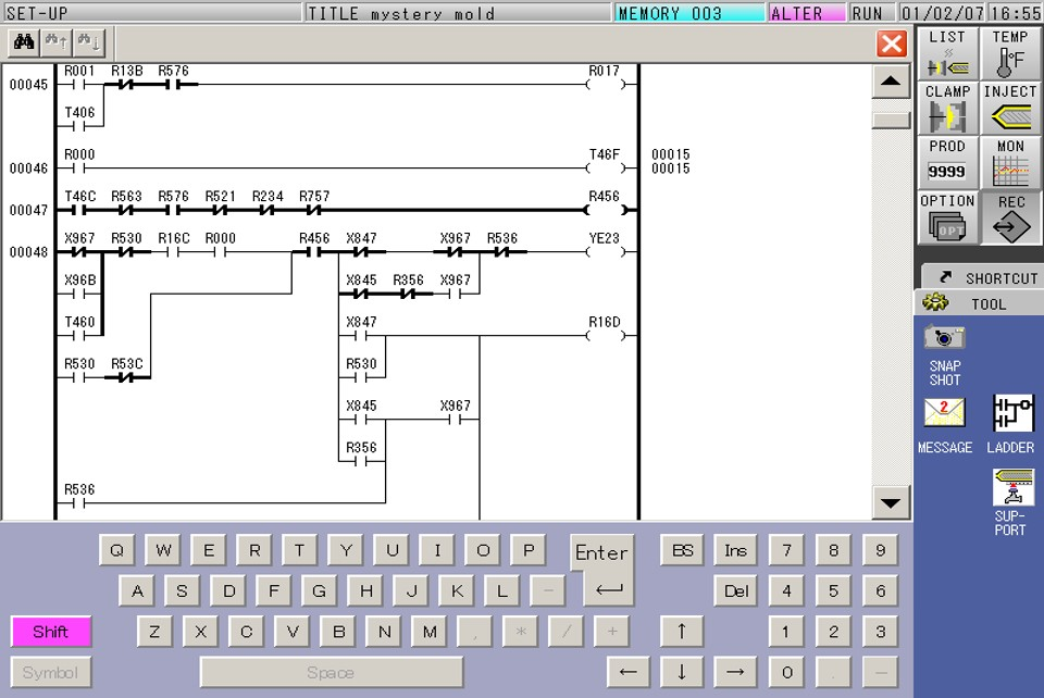 V50 Ladder Logic